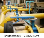 butterfly valve cooling tower... | Shutterstock . vector #768227695