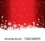 abstract christmas background... | Shutterstock .eps vector #768238894