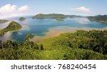 beautifull landscape at  ... | Shutterstock . vector #768240454