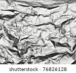 Close Up Of Aa Aluminum Foil O...