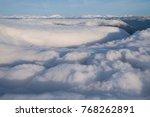 cloud sky plane | Shutterstock . vector #768262891