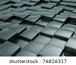 steel cube background | Shutterstock . vector #76826317