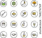 line vector icon set   group...   Shutterstock .eps vector #768276769