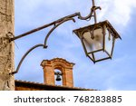 old  antique streetlamp  ... | Shutterstock . vector #768283885