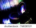 Camera Lens With Fiber Optics...