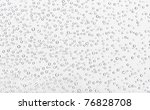 many little water drops on glass | Shutterstock . vector #76828708