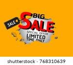 sale banner vector | Shutterstock .eps vector #768310639