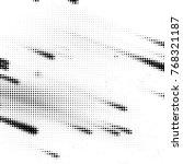 abstract grunge grid polka dot... | Shutterstock .eps vector #768321187
