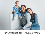 one happy family | Shutterstock . vector #768337999