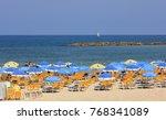 tel aviv  israel   august 24 ... | Shutterstock . vector #768341089