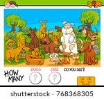 cartoon illustration of... | Shutterstock . vector #768368305