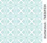 abstract seamless pattern of... | Shutterstock .eps vector #768369334