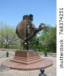 odessa   may 9  2009. monument... | Shutterstock . vector #768374251