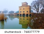 Ancient Building From Po River...