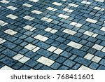 beautiful background laid... | Shutterstock . vector #768411601