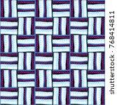 seamless vector pattern.... | Shutterstock .eps vector #768414811