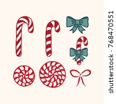 vector illustration set of...   Shutterstock .eps vector #768470551