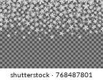 seamless pattern with... | Shutterstock .eps vector #768487801