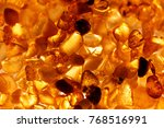 Amber Grains With Backlight...