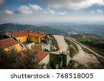 view of peninha sanctuary in a... | Shutterstock . vector #768518005