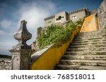 view of peninha sanctuary in a... | Shutterstock . vector #768518011