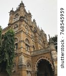 Small photo of The magnificent and majestic Victoria Terminus railway station in Mumbai, India