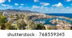 panoramic aerial view of...   Shutterstock . vector #768559345