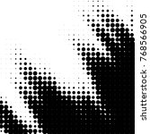 abstract grunge grid polka dot... | Shutterstock . vector #768566905