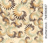 seamless five color pattern.... | Shutterstock .eps vector #768580837