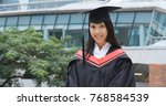 Woman Graduated From University