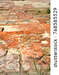 Small photo of Titchfield Abbey ruined tiles