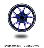 alloy wheels on white | Shutterstock . vector #768598999
