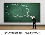 image of european businessman... | Shutterstock . vector #768599974