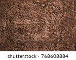 brown wool texture background ... | Shutterstock . vector #768608884