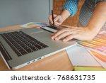 designer graphic creative... | Shutterstock . vector #768631735