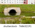 Concrete Culvert Pipe Hole...