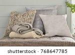 interior design detail luxury... | Shutterstock . vector #768647785