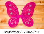 Pink Butterfly Wings Costume...