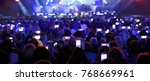lots of gilrs and guys with the ... | Shutterstock . vector #768669961