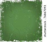 green grunge background | Shutterstock .eps vector #76867093