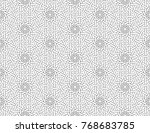 vector illustration of seamless ... | Shutterstock .eps vector #768683785