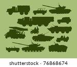 set of vector illustrations of... | Shutterstock .eps vector #76868674