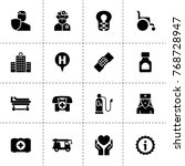 help icons. vector collection...