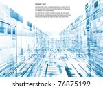 conceptual interplay of... | Shutterstock . vector #76875199