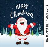 santa claus vector illustration | Shutterstock .eps vector #768762991