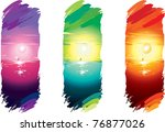 vector illustration contains... | Shutterstock .eps vector #76877026