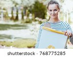 conscious activist caring about ... | Shutterstock . vector #768775285