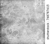 gray grunge background.... | Shutterstock . vector #768787615