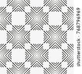 vector seamless pattern. modern ... | Shutterstock .eps vector #768796969