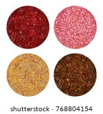 shimmer tinsel eyeshadow ...   Shutterstock .eps vector #768804154